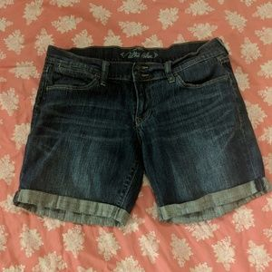 Old Navy Ultra Blue women's shorts